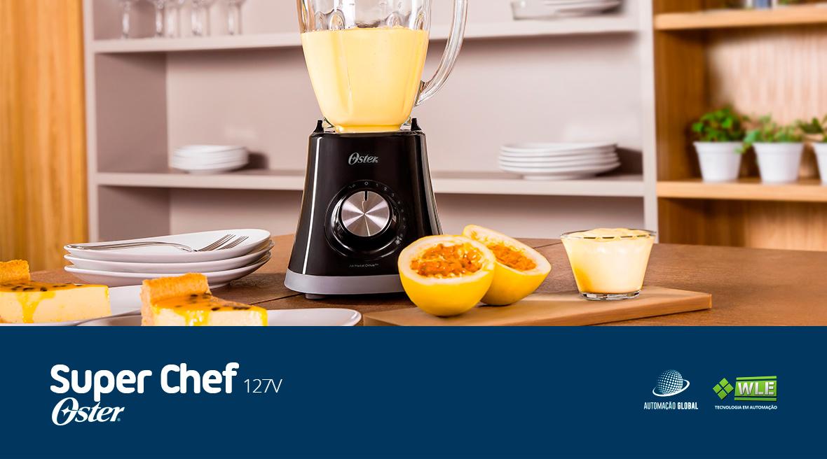 Liquidificador Oster Super Chef 127V