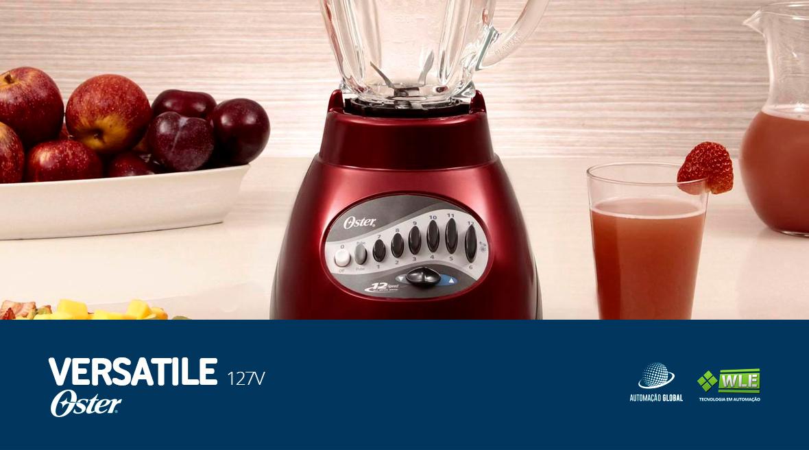 Liquidificador Oster Vermelho Versatile 127V