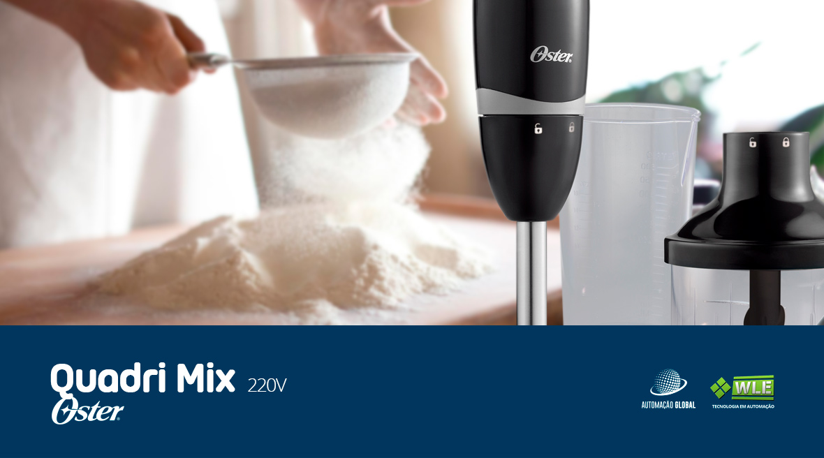 Mixer Oster Unique Quadri Mix 4 em 1 2620 350W 220V