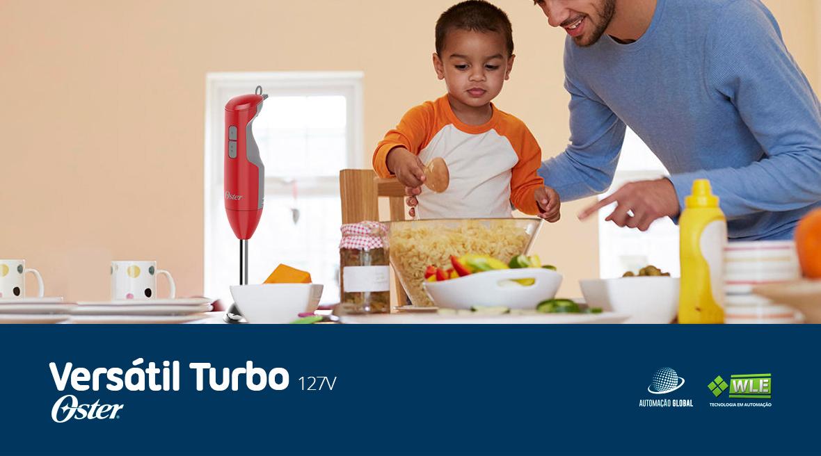 Mixer Oster Versátil Vermelho Versão Turbo 2610R 127V