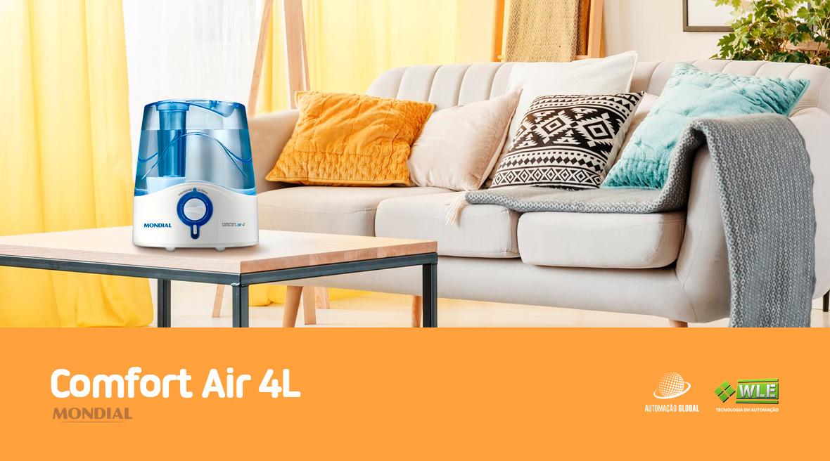 Umidificador de Ar Ultrassônico Mondial Comfort Air 4L UA-01 35W 220V