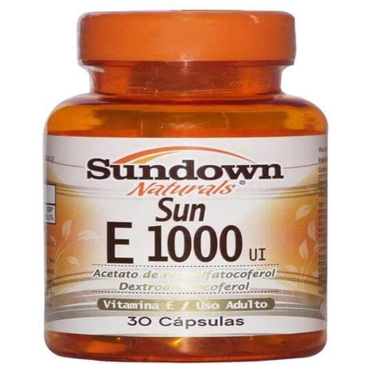 Vitamina E 1000 UI (30caps) - Sundown