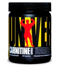 Carnitine 1000mg (30caps) - Universal Nutrition