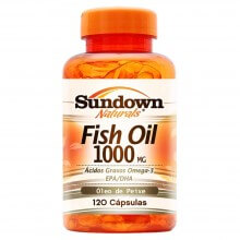 Fish Oil 1000mg - �leo de Peixe (120caps) - Sundown