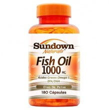 Fish Oil 1000mg - �leo de Peixe (180caps) - Sundown
