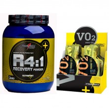 Kit R4:1 Recovery (1kg) + VO2 Gel (20 saches) - Integralm�dica