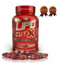 Lipo Cut-X (120 caps) - Arnold Nutrition
