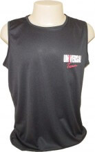 Camiseta Regata Dry Fit Animal Preta - Universal Nutrition
