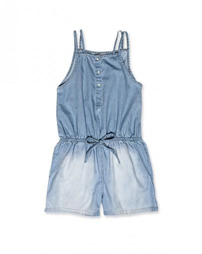 Macaquinho jeans infantil menina hering kids c6r9jejpw r for Jardineira jeans infantil c a