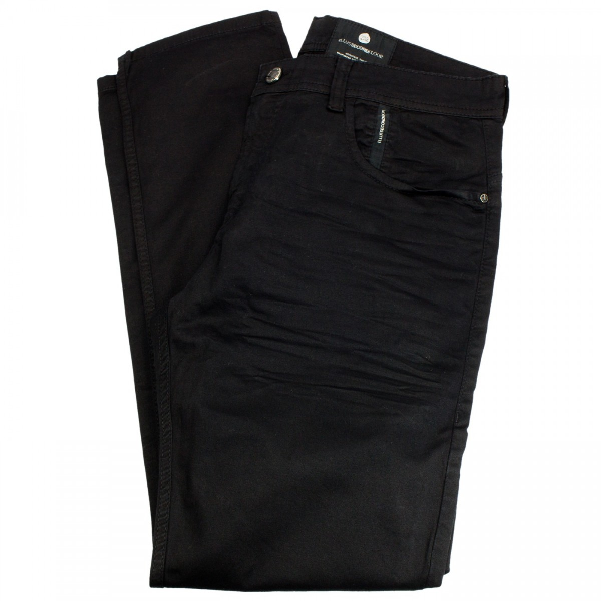 Calça Jeans Ellus Second Floor Sarja Light Color Super Slim 20sa683 Preto