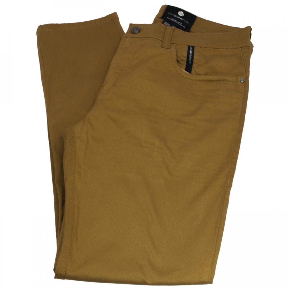 Calça Jeans Ellus Second Floor Sarja Light Color Super Slim 20sa683 Camel