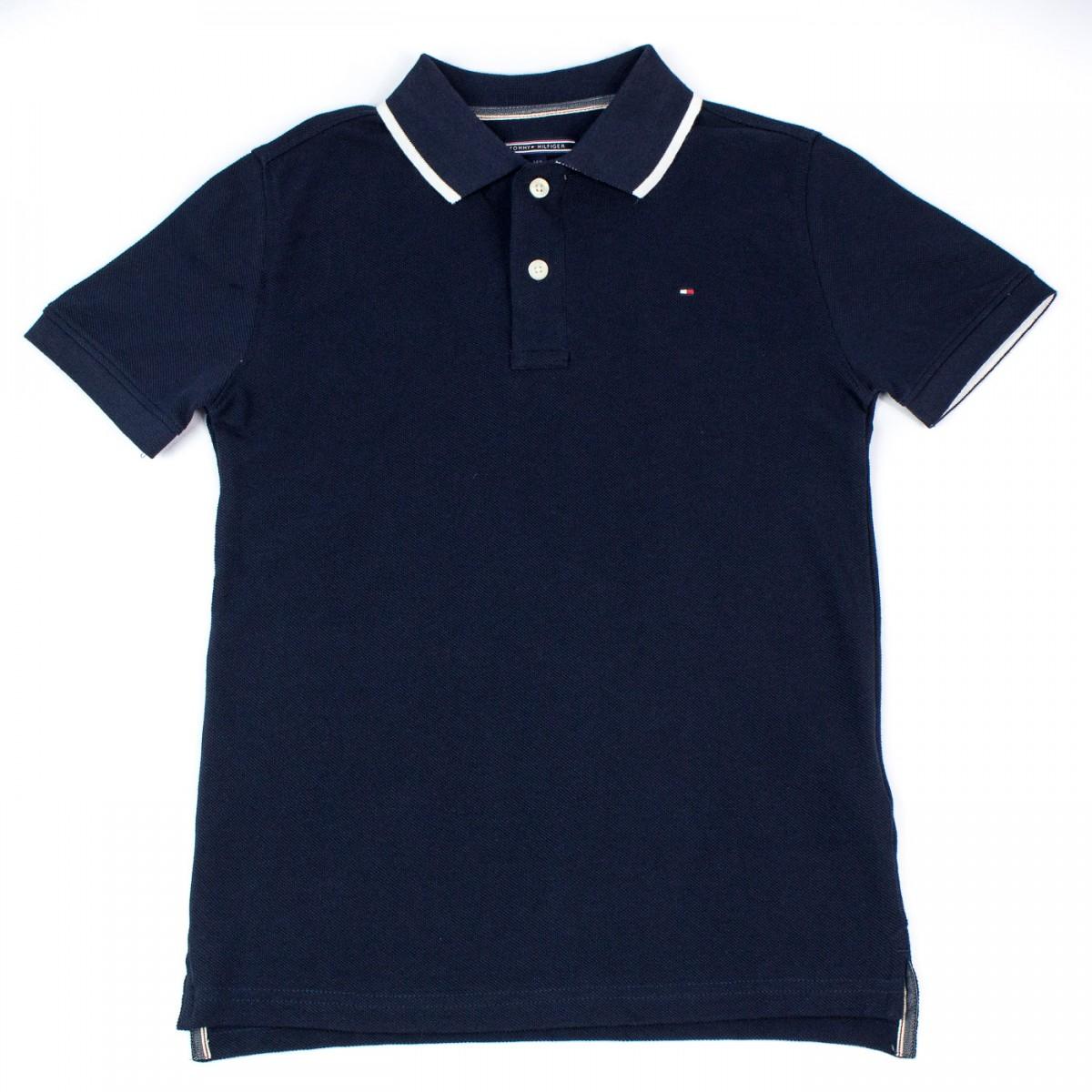 Camisa Polo Infantil Tommy Hilfiger Thkkb0p29334 Marinho