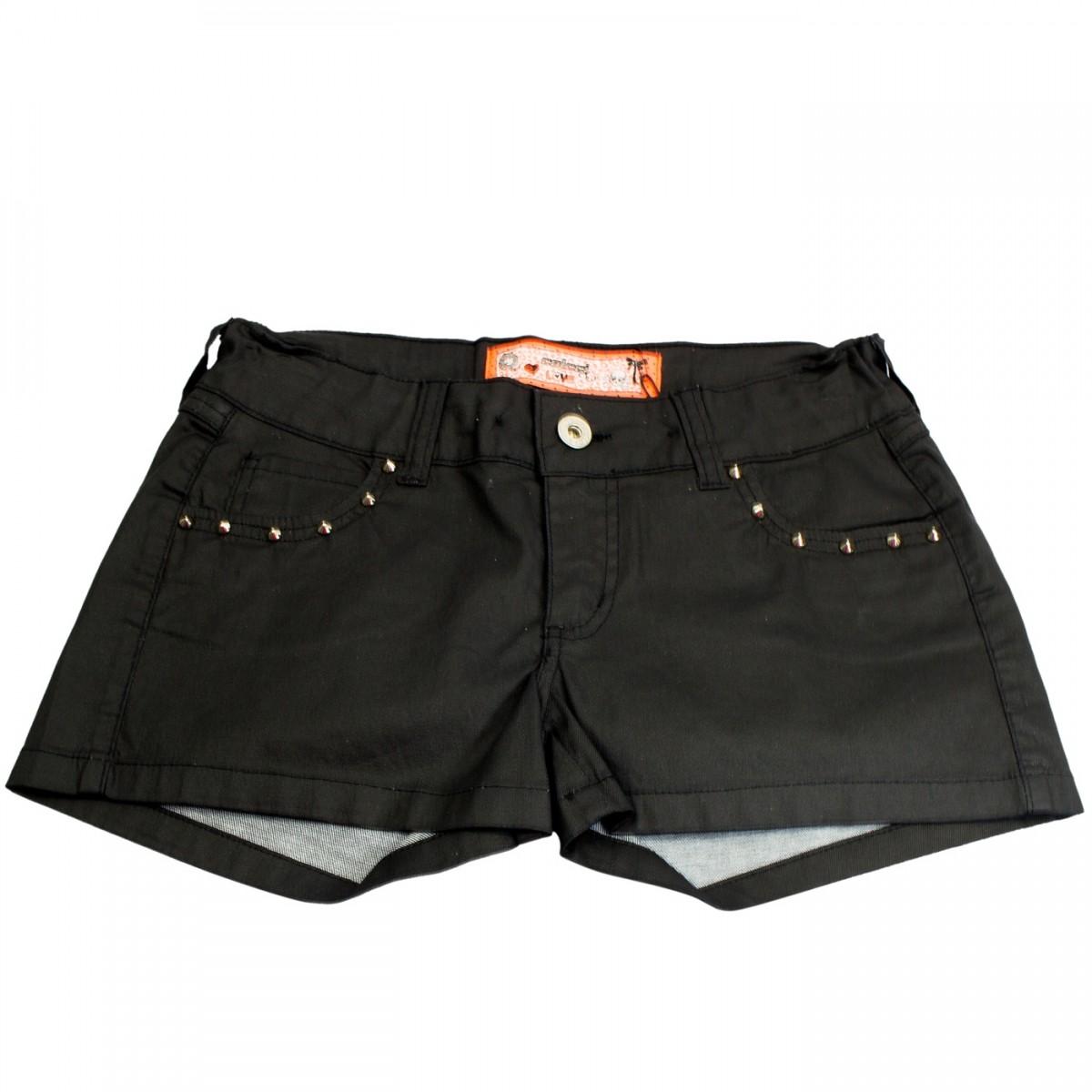 Shorts Juvenil Colcci Fun Indigo 006.01.01296 Preto