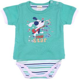 Body Camiseta de Bebe - Menino - Best Club - cod. 6643