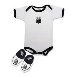 Body do Santos com Pantufa - C�d. 7575
