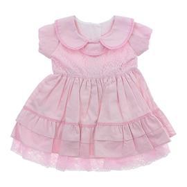 Vestido Cor de Rosa para Bebe cod. 8349