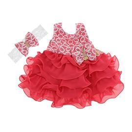 Vestido de Festa para Bebê - cod. 8116