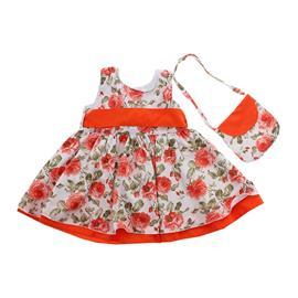 Vestido Floral para Bebe - cod. 8105