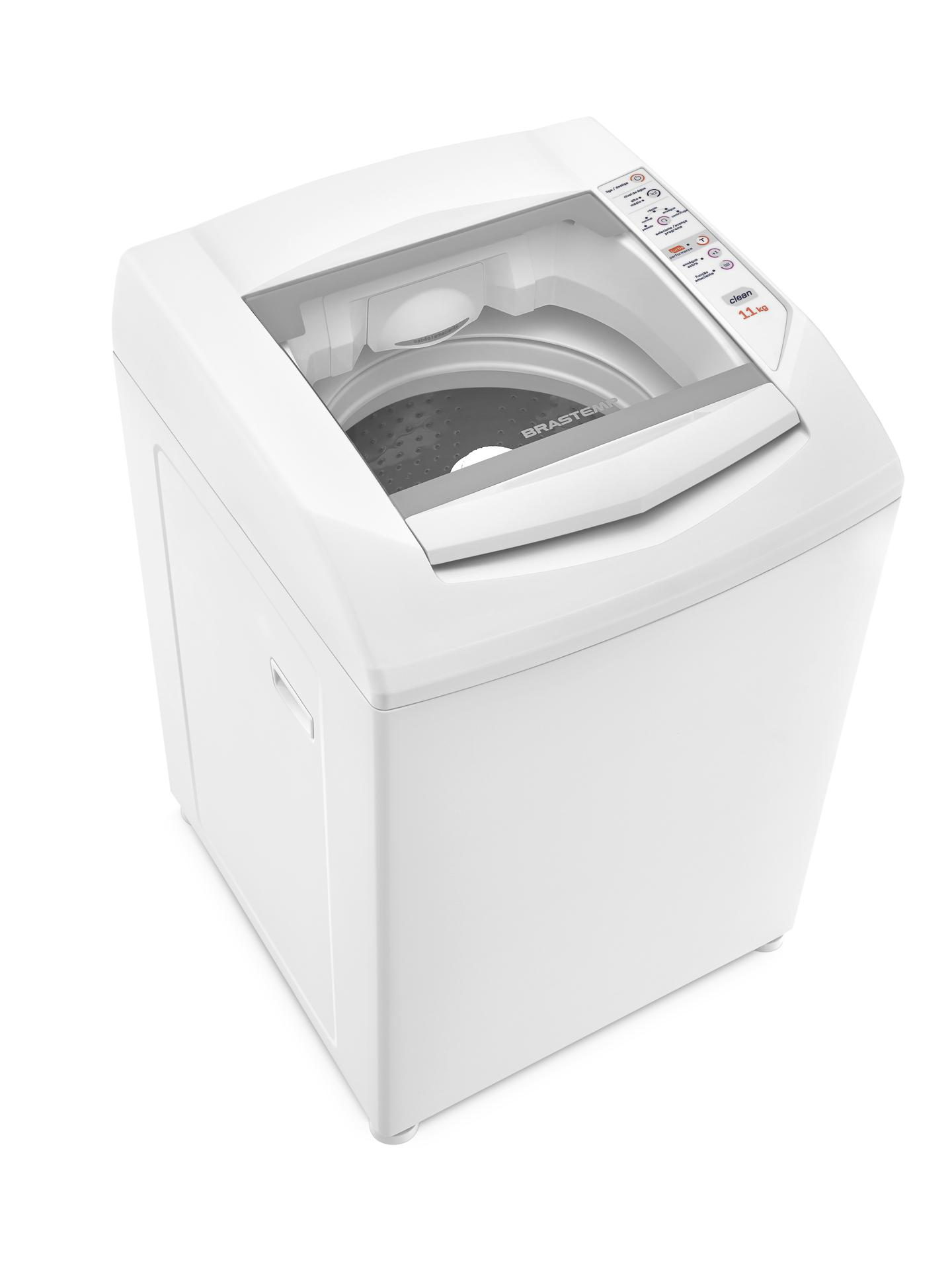 Lavadora de Roupas Automática Brastemp Clean 11 Kg Branca BWC11ABBNA