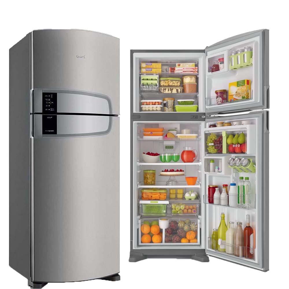 Geladeira Consul Domest 2 Portas 437L Platinum Frost Free 220v