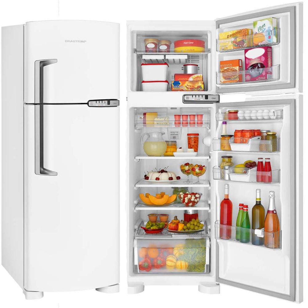 Refrigerador Brastemp Clean 2 Portas 352 Litros Branco Frost Free 220v