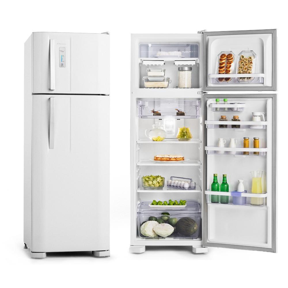 Geladeira Electrolux 2 Portas 310 Litros Branco Frost Free 220v