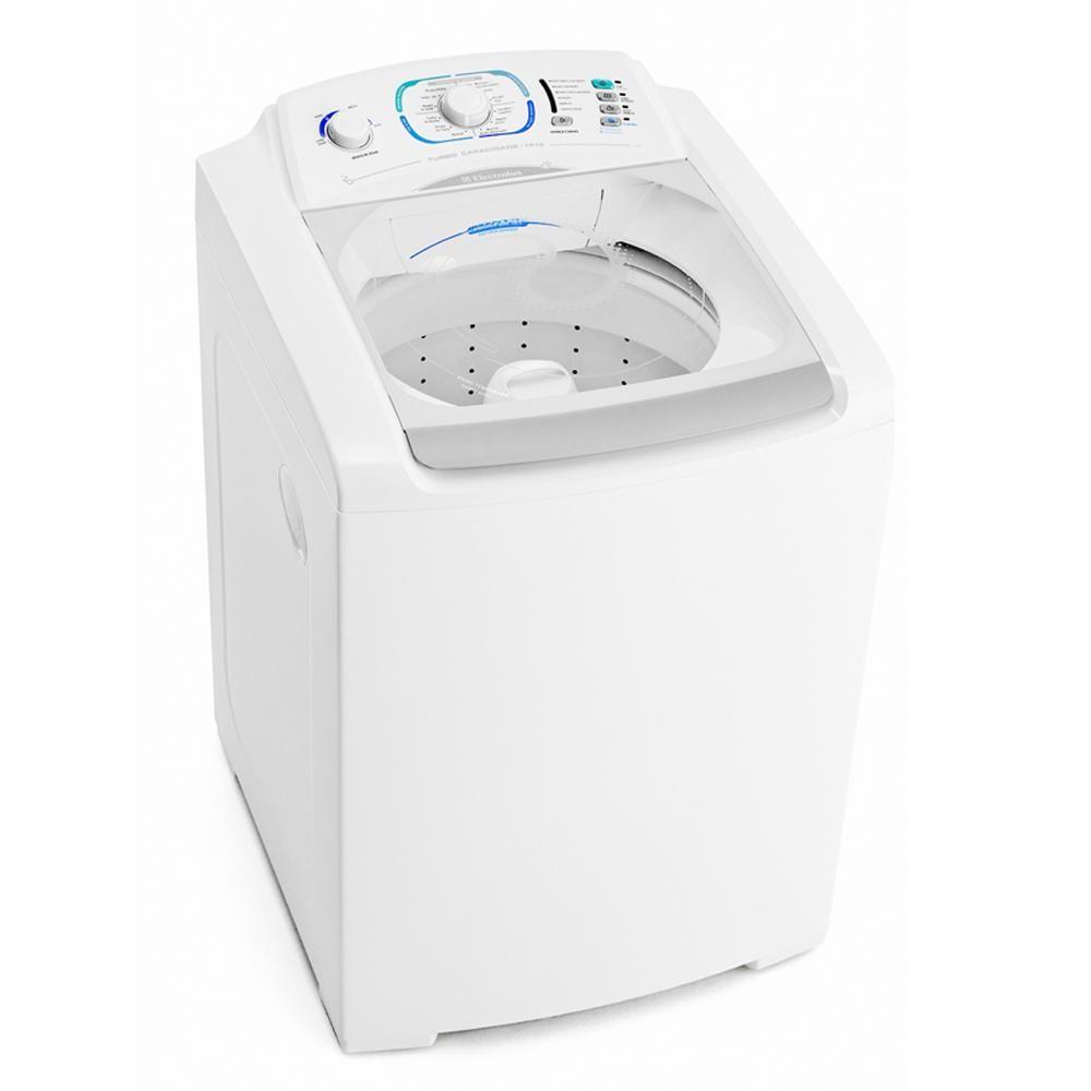 Lavadora de Roupas Electrolux 12 kg Branca Automática 127v 127v