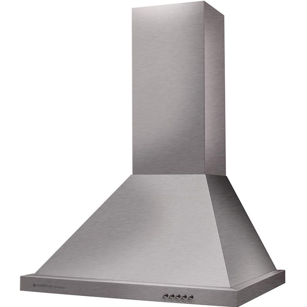 Coifa de Parede Cadence Gourmet Piramidal 60cm Inox 220v