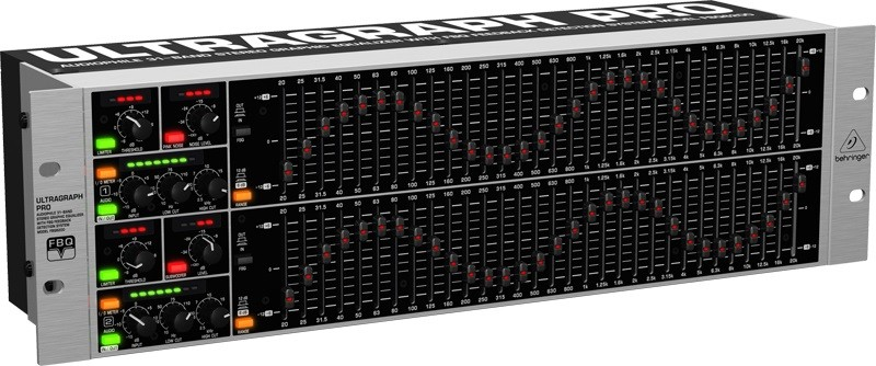 Equalizador 31 bandas FBQ6200 - Behringer