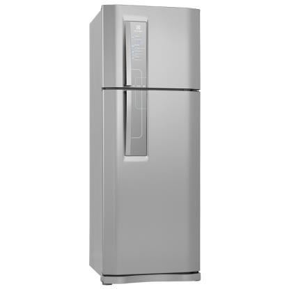 Geladeira Electrolux 2 Portas 460L Inox Frost Free 220v