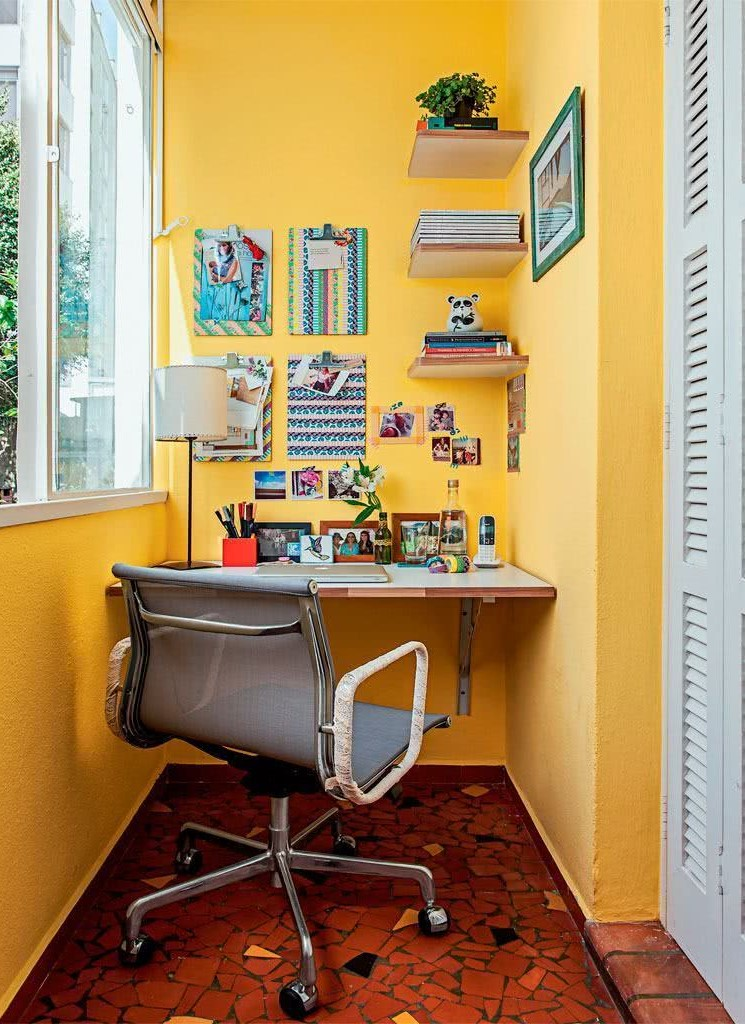 decor home office janela