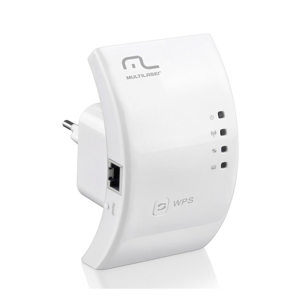 Repetidor E Roteador 300mbps Wps RE051 Branco Multilaser