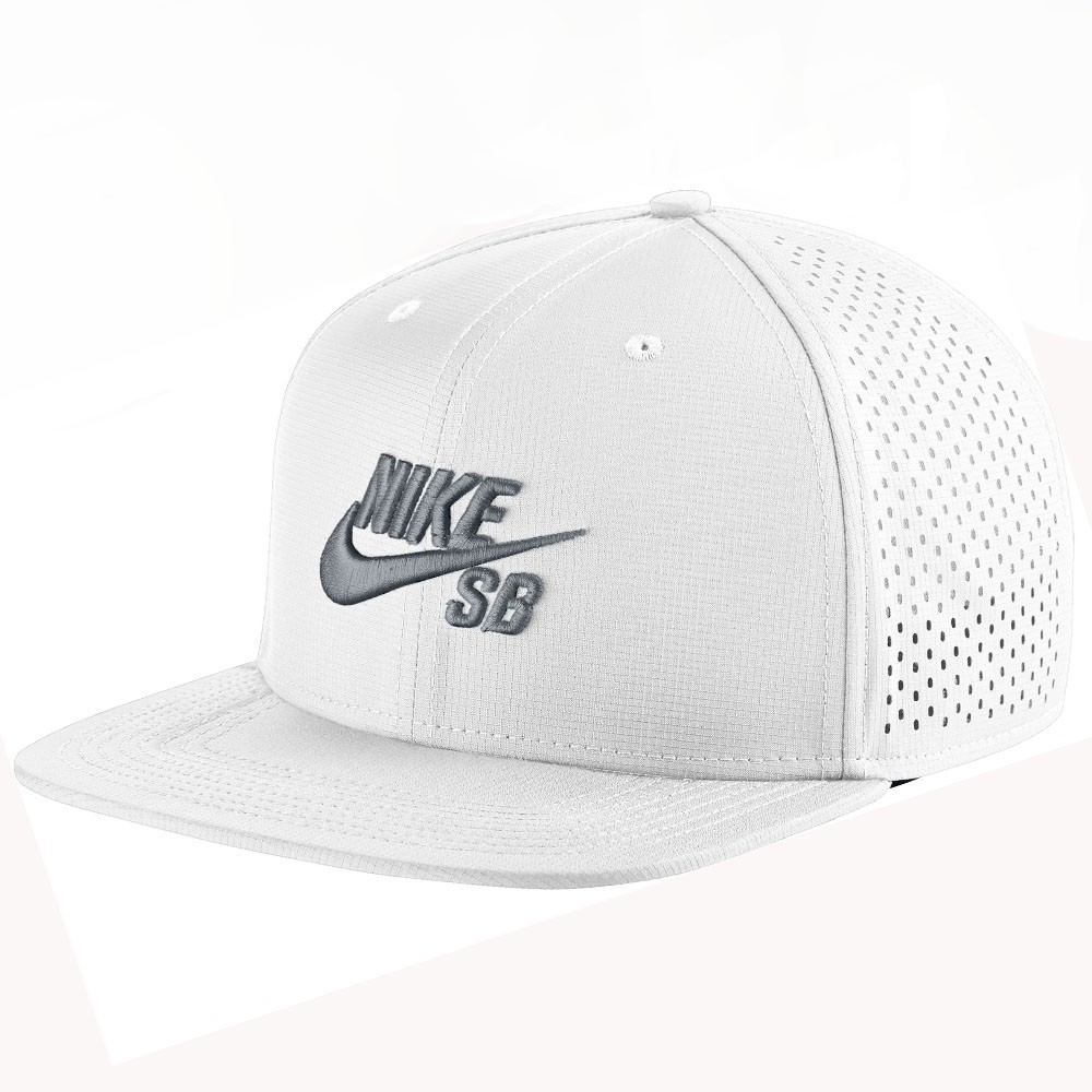 Boné Nike Sb Performance Trucker Branco