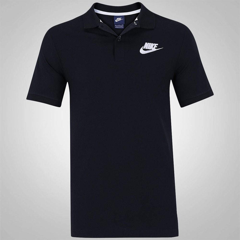 Camisa Polo Nike Nsw Jsy Preto