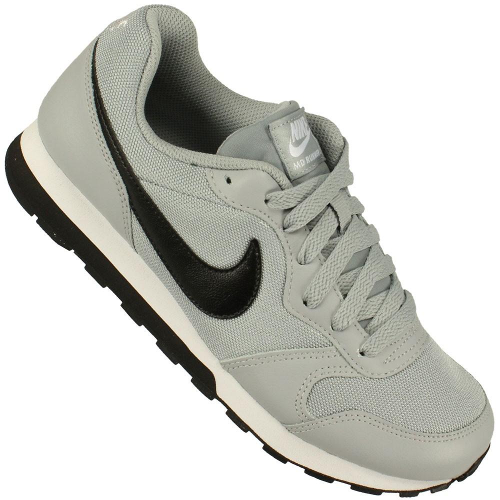 Tênis Nike Md Runner 2 Gs Juvenil Cinza