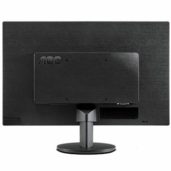 monitor LCD LED AOC E1670SWU Widescreen traseira