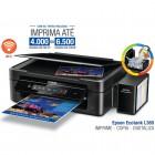 Multifuncional Tanque Jato de Tinta Bulk Ink Epson L365 - Wireless ( BR ) BRCE54302