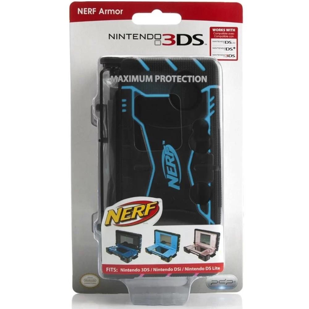 Case Triple Armor Nerf Para Nintendo 3DS / DSI / DS Lite - Azul