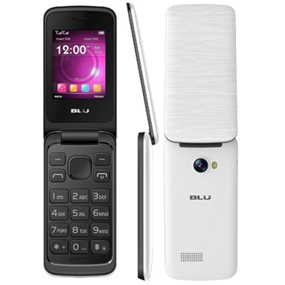 Celular Blu Diva Flex T370 Preto e Branco, Dual Chip, Tela 1.8 ´, Câm VGA, Bluetooth, FM, MP3 / MP4