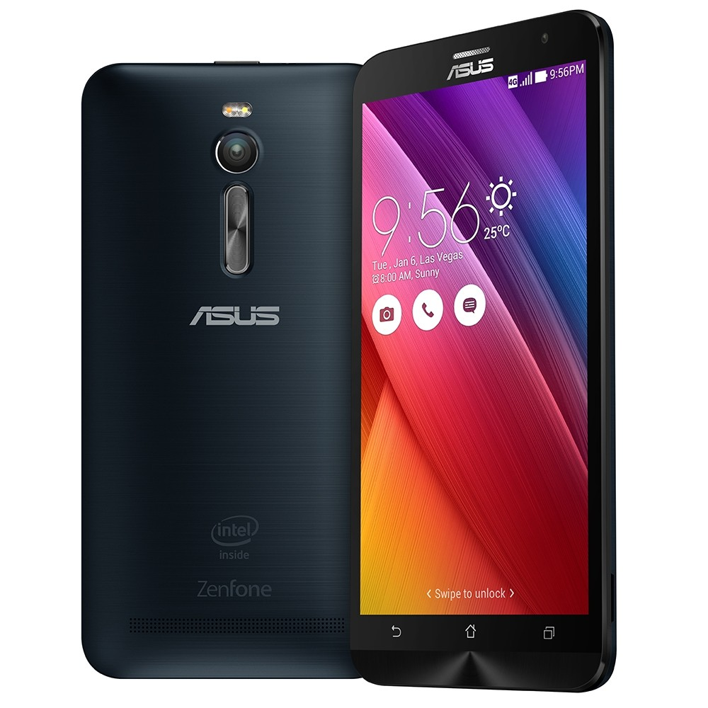 Smartphone Asus ZenFone 2 ZE551ML 1.8 GHz Preto, Dual, Android 5.0, Tela 5.5 ´ ´, Mem 16GB, Câm 13MP