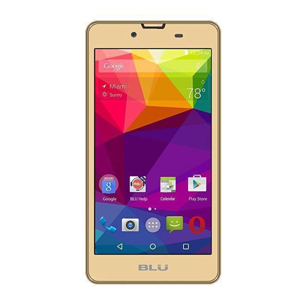 Smartphone Blu Neo X N070L Dourado, Dual Chip, Tela 5.0 ´, Câm 5.0MP, 4GB, Android 5.1 - 3G