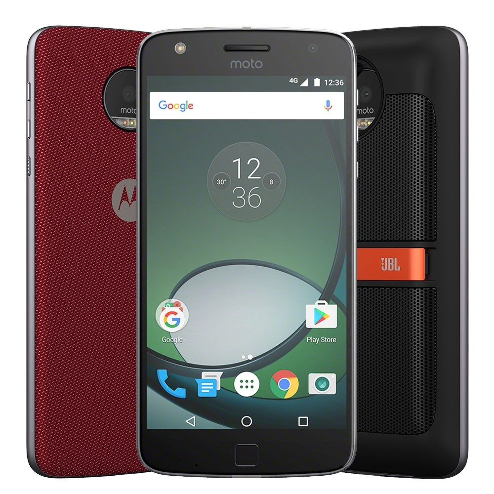Smartphone Motorola Moto Z Play Sound Edition Preto, Dual, Tela 5.5 ´, 16MP, 32GB, And 6.0 - 4G