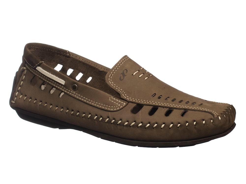 Sapato Pegada Mocassim Bege