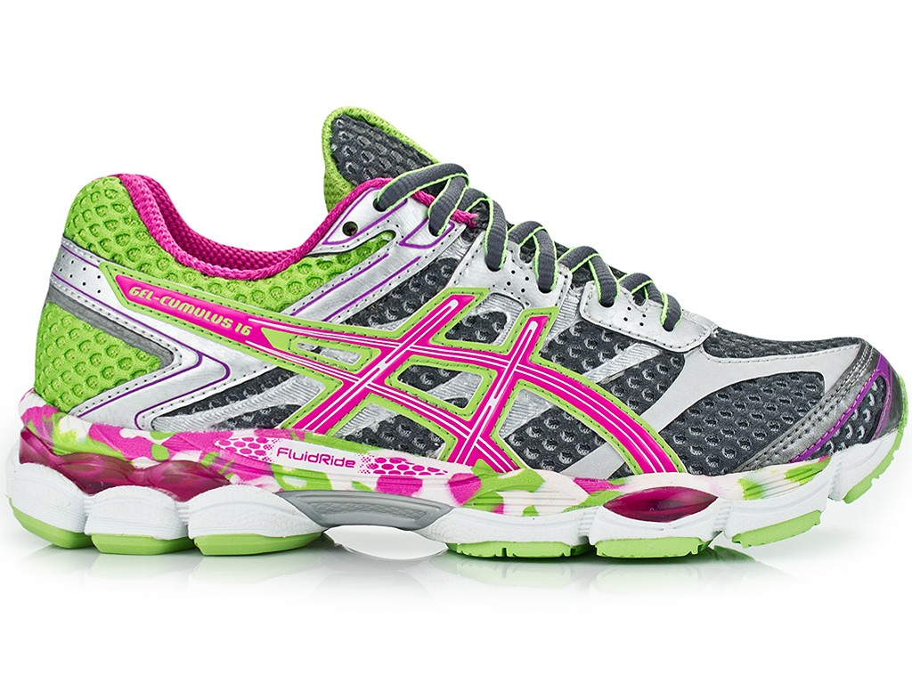 asics fluidride gel cumulus 16 asics shoes clothes accessories for sale up to 25 off. Black Bedroom Furniture Sets. Home Design Ideas