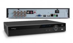 DVR Stand Alone Gravador digital de vídeo HDCVI Híbrido 8 Canais Resolução HD 3008 Intelbras HDCVI3008 - 12mm