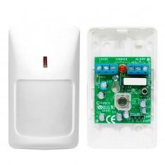 Sensor Infravermelho Passivo Interno Com fio IVP RK210PR CoMET PIR Rokonet SENSORDEPRESENÇARK210PR - 12mm