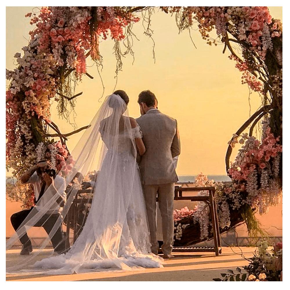 Inspirações e detalhes casamento Camila Queiroz e Klebber Toledo