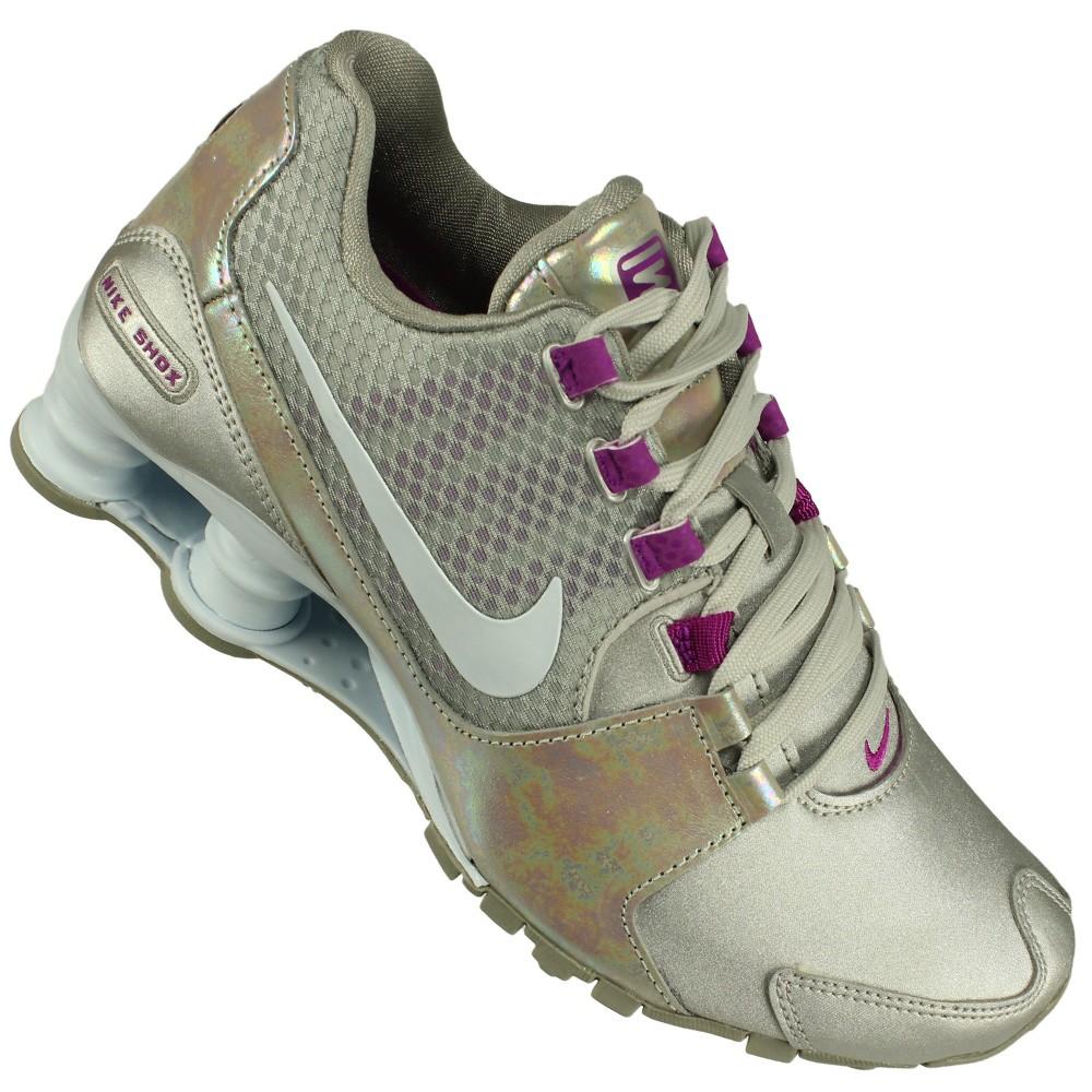 Tênis Nike Shox Avenue SE Feminino Prata