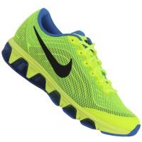 Tênis Nike Air Max Tailwind+ 6 621225 - 701 Verde Limão e Azul - 40