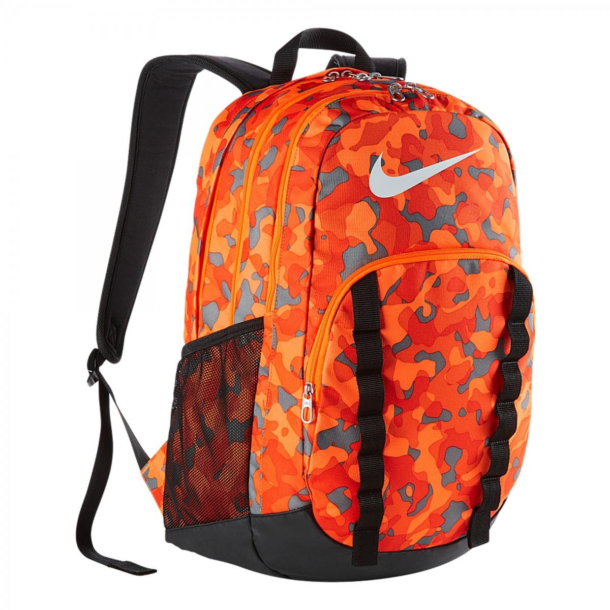 Mochila Nike Brasilia 7 Backpack Graphic Lar / pto Un